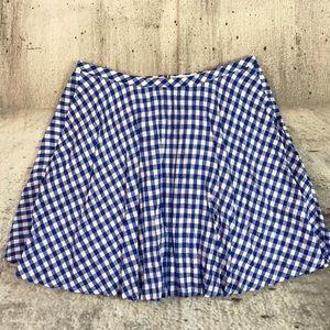 J Crew plaid skirt